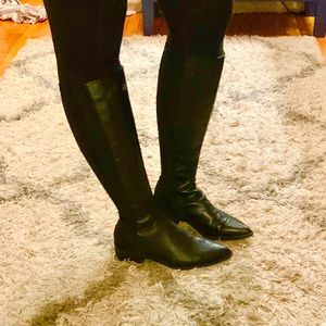 Steve Madden Shoes - Steve Madden leather knee high boots